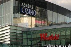 Aspers Casino at Westfield Stratford City London