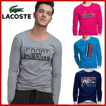קטלוג חולצות ארוכות לגברים לקוסט LACOSTE