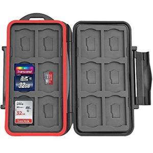 XPIX 24X Storage Water Resistant Protective Memory Card Case - Thephotosavings