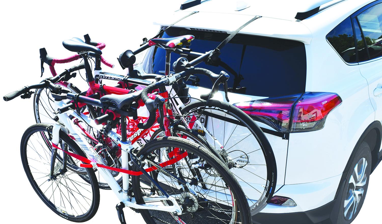 bike rack for car 3 bikes