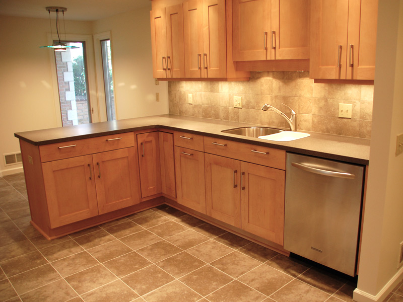 Maple Cabinets - Solid Surface Countertops « Maloney ... on Maple Countertops id=15769