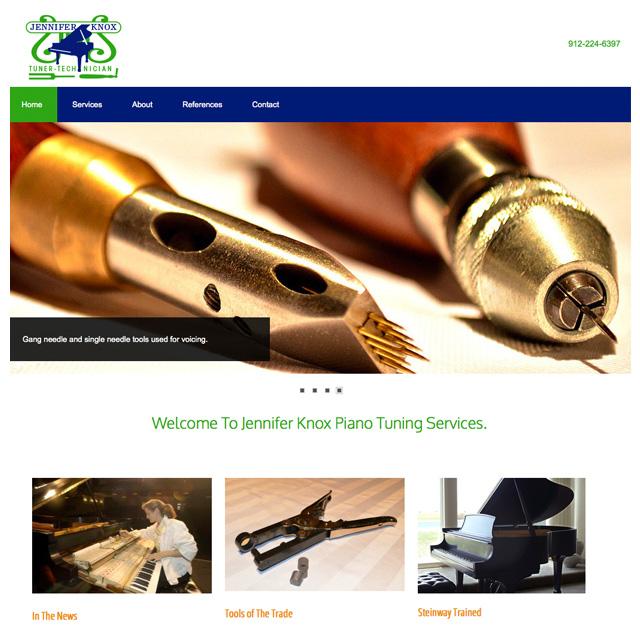 Knox web site design