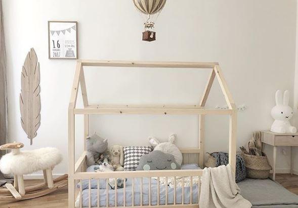 decoracion niños, cama montessori, deco bebes