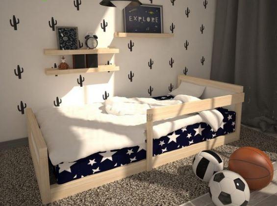 Cama baja para niños, decoración infantil, decokids, decoración para bebés
