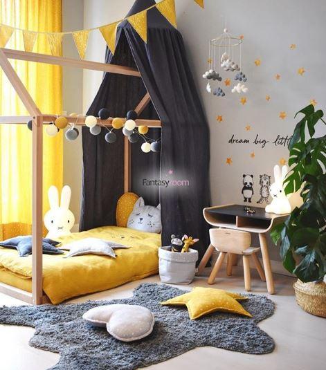 pintar habitación bebe, decoración infantil, montessori, maloo studio