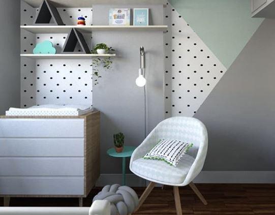 pintar habitación bebe, montessori, ambiente preparado, maloo studio