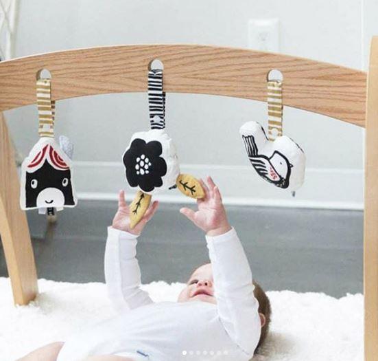 Móviles para bebé, moviles montessori, decoración bebe, rincón sensorial