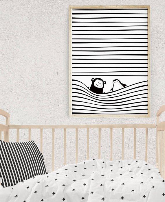 deco bebes, decokids, decoracion nordica bebe, montessori