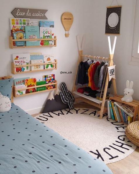 montessori, waldorf, maternidad consciente, maloo studio, decoración infantil, cuarto de niños montessori