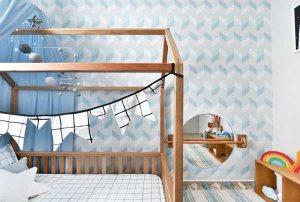 dormitorio infantil de los 0 a los 6 años, maloo studio, decoración infantil, montessori, waldorf, ambiente preparado