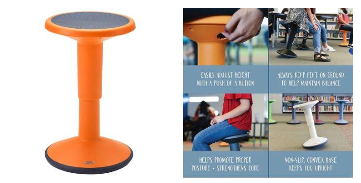 Maloo Studio, taburete niño, asientos flexibles, atención niños