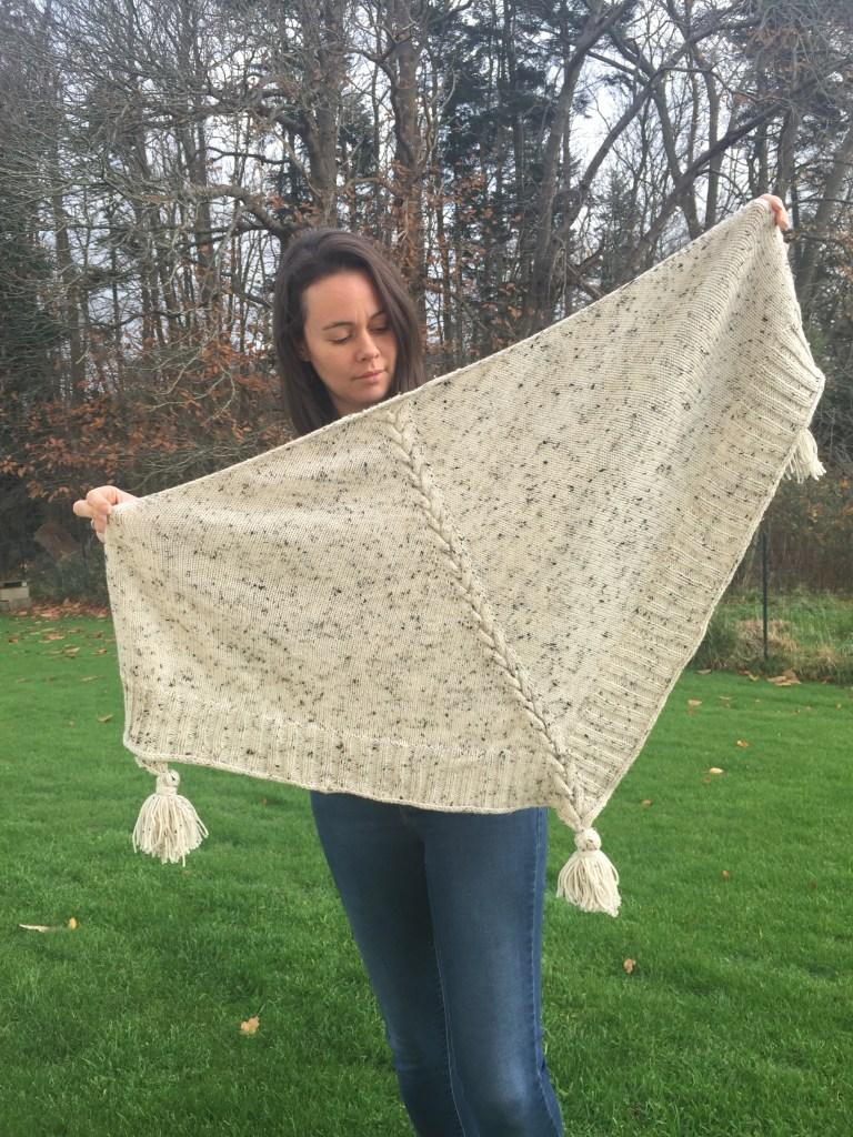 heuchera - Châle au tricot pour l'automne