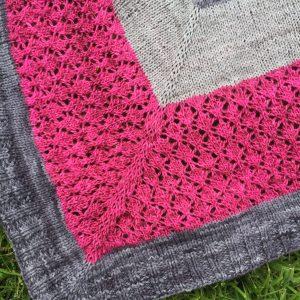 Asterales - châle au tricot
