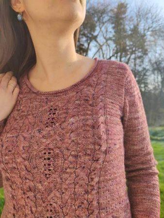 Allium pull femme au tricot