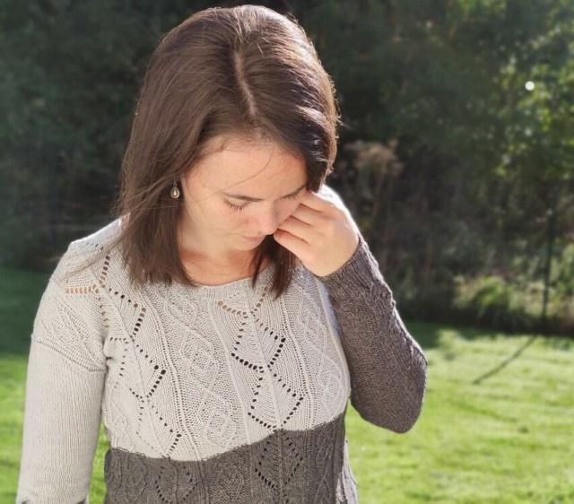 Santoline, pull pour femme au tricot