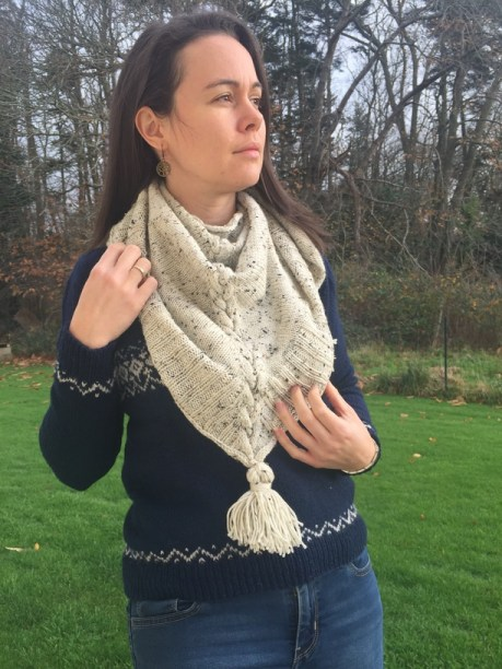Heuchera - tricot pour l'automne