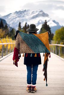 Moraine shawl - 10 modèles de châles au tricot