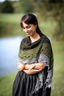 Odyssey shawl - 10 patrons de châle au tricot