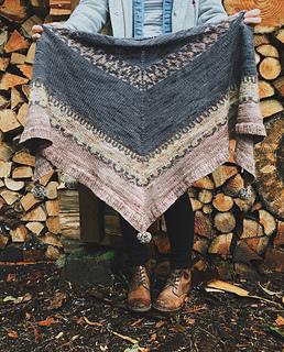 Châle Kodikas - 10 modèles de châles au tricot pour l'automne