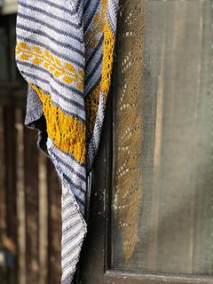 Teroldego - Châle au tricot pour l'automne