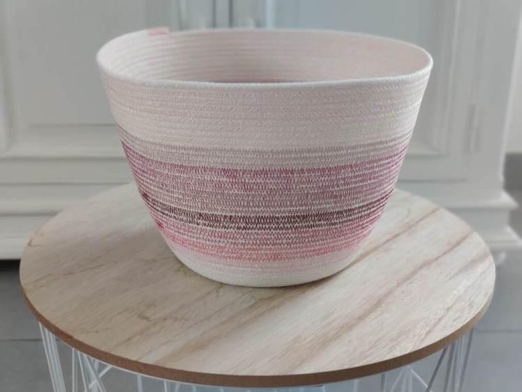Panier en-cours - Rose - Taille L -Maloraé Designs