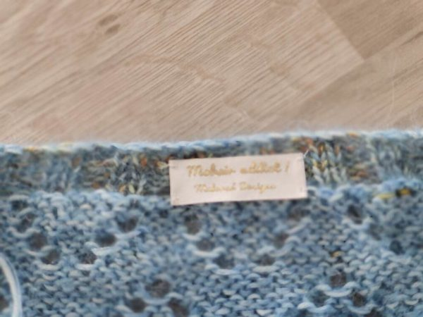 Étiquettes tissées - Mohair addict - Maloraé Designs