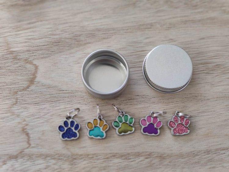 Lots anneaux marqueurs petites pattes 3 - Maloraé Designs