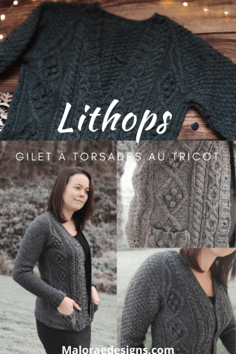 Gilet lithops - Mlaoraé Designs