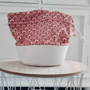 Panier à projets tricot - Géométrique - Taille M - Maloraé Designs