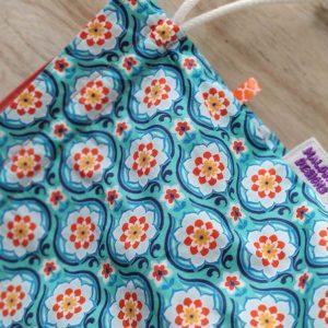 Panier à projets tricot - Rétro - Taille L - Maloraé Designs