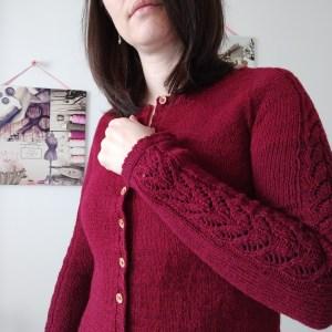 Watsonia cardigan - Modèle au tricot - Avril 2021 - Maloraé Designs