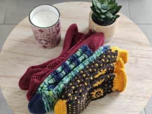 Collection chaussettes - Tricot - Maloraé Designs