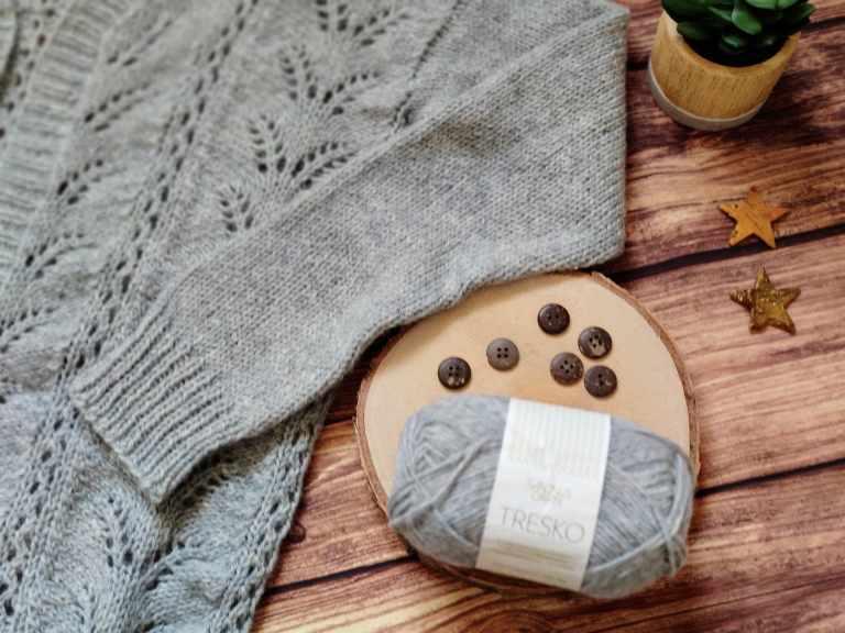Fougère cardigan - Tricot - Maloraé Designs