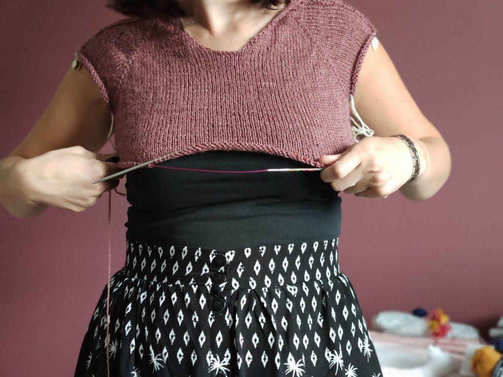 Comment choisir sa taille dans un patron de tricot - Conseils tricot - Maloraé Designs