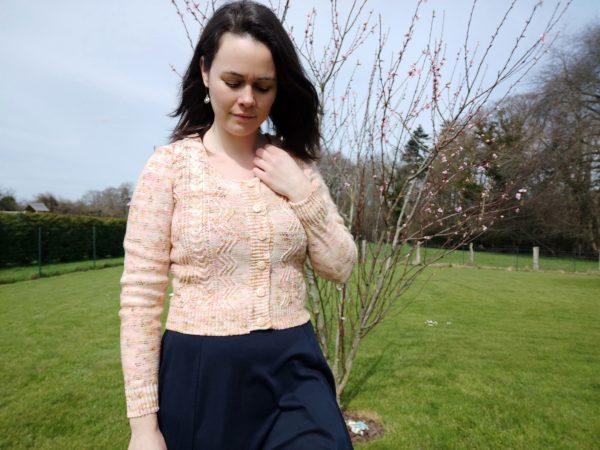 gilet pour femme au tricot - Maloraé designs