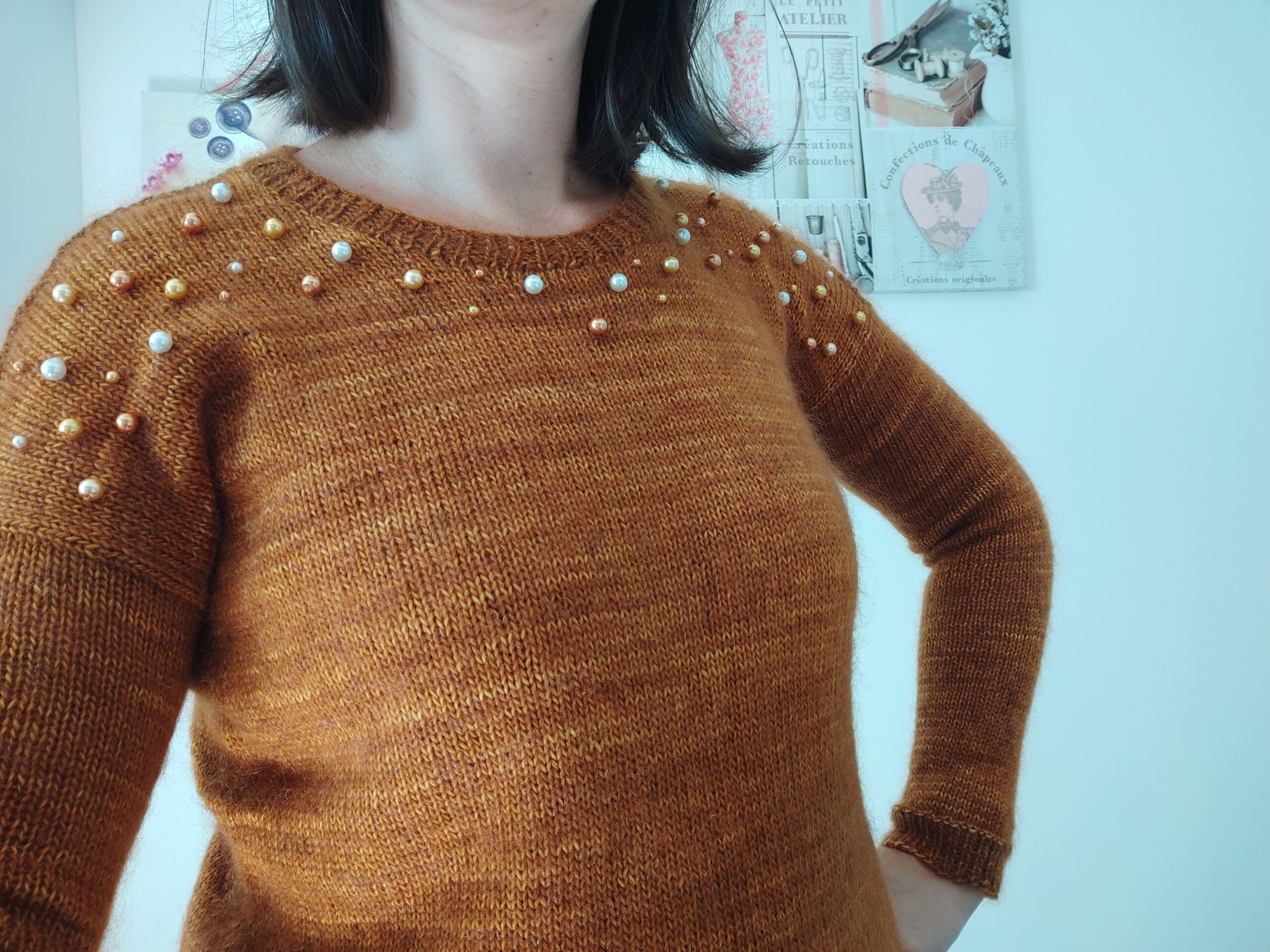 Kerséal - Pull tricot femme - Maloraé Designs