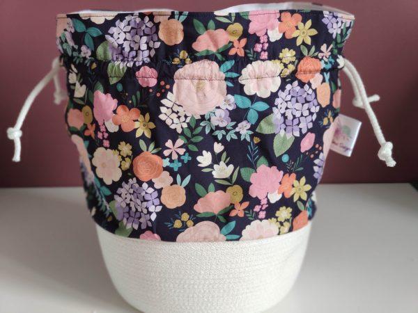 Panier projet tricot - Taille M - Jardin - Maloraé Designs