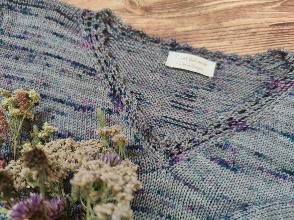 Scaevola - pull délicat au tricot - Maloraé Designs