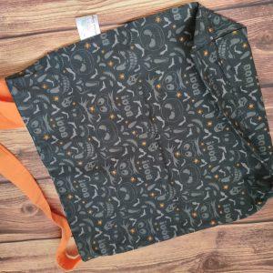 Tote bag - projet tricot - BOO - Taille L - Maloraé Designs