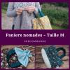 Précommande Taille M - Panier projets tricot nomades - Maloraé Designs