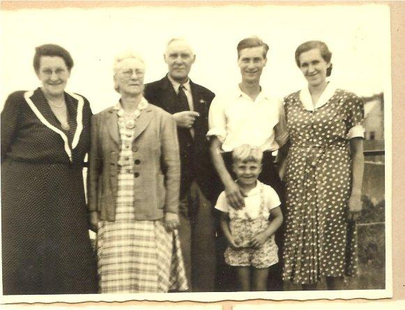 Frida, Gabrielle, Pierre père, Pierre fils, Peter, Wilhelmine