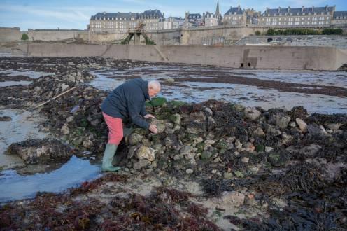 Pour résister à la mer, les pierres doivent être bien calées