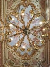 ナシャールにあるPalazzo Parisioの天井