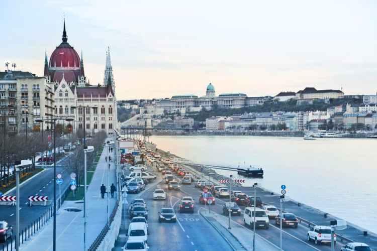 ハンガリーの街並み