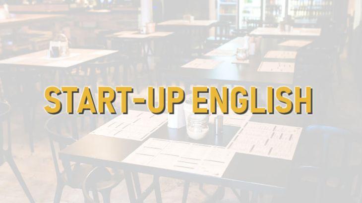 START-UP ENGLISH