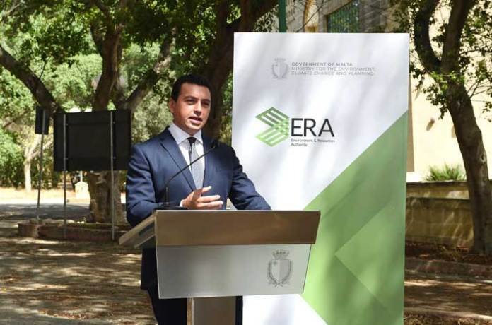 Minister for the Environment, Climate Change and Planning Aaron Farrugia