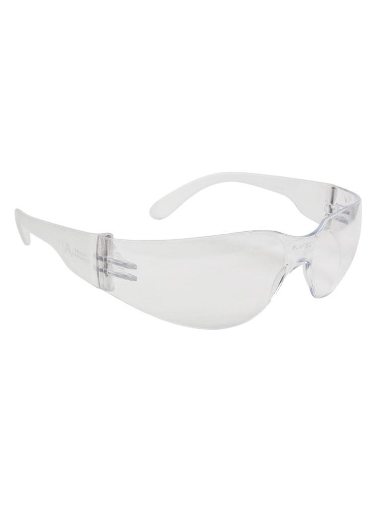 SG1012 - Clear Frame Safety Glasses (12 Pack)