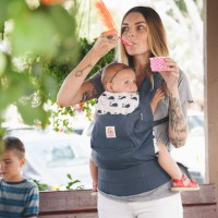 How to use my Ergobaby Original, Organic, Performance baby carrier from infancy to toddlerhood