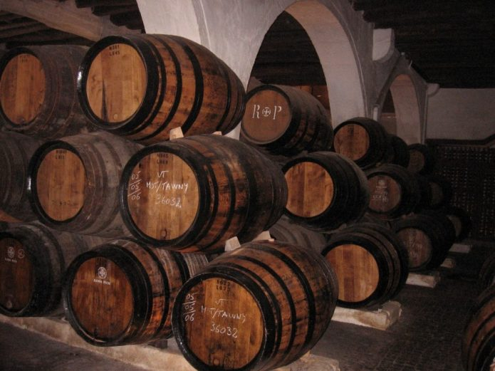 Tawny Port  Barrels. Photo Credit: adrian1974fulga.wordpress.com