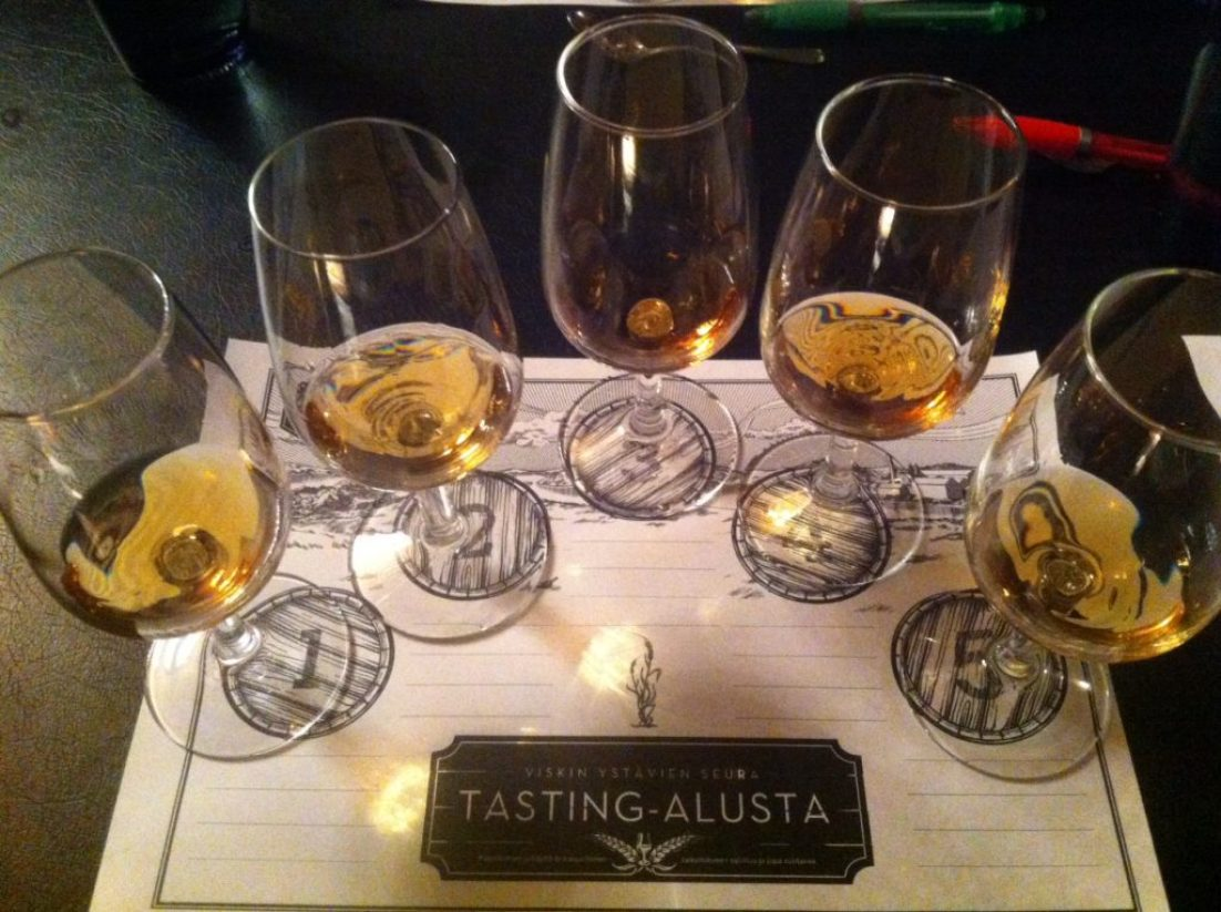 The Tasting Set Out